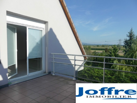 vente appartement FESSENHEIM 3 pieces, 81,65m